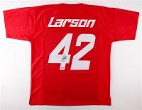 Kyle Larson Signed NASCAR Custom Stitched #42 Jersey (PA COA)