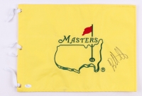Bubba Watson Signed Masters Tournament Golf Pin Flag (JSA COA)