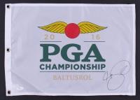 Jason Day Signed 2016 PGA Baltusrol Championship Golf Pin Flag (JSA COA)