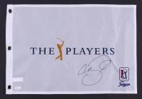 Jason Day Signed The Players Tournament Golf Pin Flag (JSA COA)