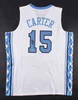 Vince Carter Signed North Carolina Tar Heels Jersey (Mounted Memories)