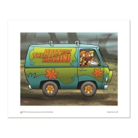 """Mystery Machine"" Limited Edition 16x20 Giclee from Hanna-Barbera at PristineAuction.com"