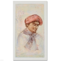 """Edna HIbel Signed """"Toni"""" Limited Edition 12x20 Lithograph at PristineAuction.com"""
