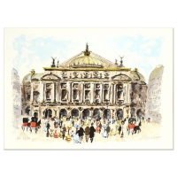 """Urbain Huchet Signed """"L'Opera"""" Limited Edition 21x29 Lithograph at PristineAuction.com"""