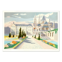 """Georges Lambert Signed """"Chantrers Navals"""" Limited Edition 21x29 Lithograph (PA LOA) at PristineAuction.com"""