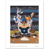 """At the Plate (Yankees)"" Limited Edition 16x20 Giclee from Warner Bros. at PristineAuction.com"