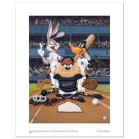 """At the Plate (Tigers)"" Limited Edition 16x20 Giclee from Warner Bros. at PristineAuction.com"