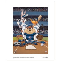 """At the Plate (Blue Jays)"" LE 16x20 Giclee from Warner Bros. at PristineAuction.com"