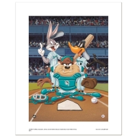 """At the Plate (Marlins)"" Limited Edition 16x20 Giclee from Warner Bros. at PristineAuction.com"