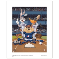 """At the Plate (Expos)"" Limited Edition 16x20 Giclee from Warner Bros. at PristineAuction.com"