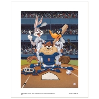 """At the Plate (Mets)"" Limited Edition 16x20 Giclee from Warner Bros."