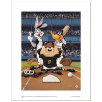 """At the Plate (Pirates)"" Limited Edition 16x20 Giclee from Warner Bros. at PristineAuction.com"