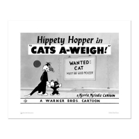 """Cats-A-Weigh (Wanted Cat)"" Limited Edition 16x20 Giclee from Warner Bros. at PristineAuction.com"