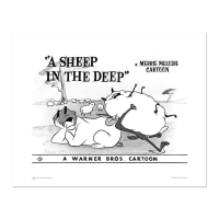 """""""A Sheep in the Deep - Flock"""" Limited Edition 16x20 Giclee from Warner Bros."""