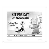 """""""Kit for Cat"""" Limited Edition 16x20 Giclee from Warner Bros."""