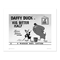 """His Bitter Half - Daffy Duck"" LE 16x20 Giclee from Warner Bros. at PristineAuction.com"
