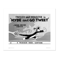 """Hyde and Go Tweet - Tail"" LE 16x20 Giclee from Warner Bros. at PristineAuction.com"