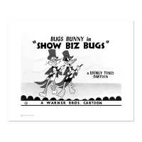 """Show Biz Bugs -Both Dancing"" Limited Edition 16x20 Giclee from Warner Bros. at PristineAuction.com"