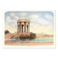 "Rolf Rafflewski Signed ""Monument"" Limited Edition 21x29 Lithograph at PristineAuction.com"