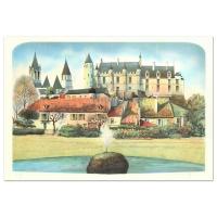 "Rolf Rafflewski Signed ""Chateau"" Limited Edition 21x29 Lithograph (PA LOA) at PristineAuction.com"