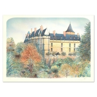 "Rolf Rafflewski Signed ""Chateau"" Limited Edition 21x29 Lithograph at PristineAuction.com"