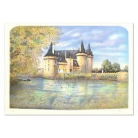 "Rolf Rafflewski Signed ""Chateau VII"" Limited Edition 21x29 Lithograph at PristineAuction.com"