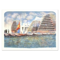 """Rolf Rafflewski Signed """"Grand Motte"""" Limited Edition 21x29 Lithograph at PristineAuction.com"""