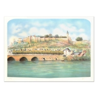 "Rolf Rafflewski Signed ""Seine"" Limited Edition 21x29 Lithograph at PristineAuction.com"