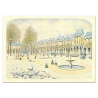 """Rolf Rafflewski Signed """"Park"""" Limited Edition 21x29 Lithograph at PristineAuction.com"""