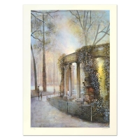 """Antonio Rivera Signed """"Luxembourg"""" Limited Edition 21x29 Lithograph at PristineAuction.com"""