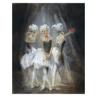 """Lena Sotskova Signed """"Old Play"""" Artist Embellished Limited Edition 14x18 Giclee on Canvas at PristineAuction.com"""