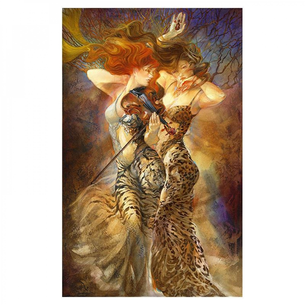 "Lena Sotskova Signed ""Revelation"" Artist Embellished Limited Edition 25x40 Giclee on Canvas at PristineAuction.com"