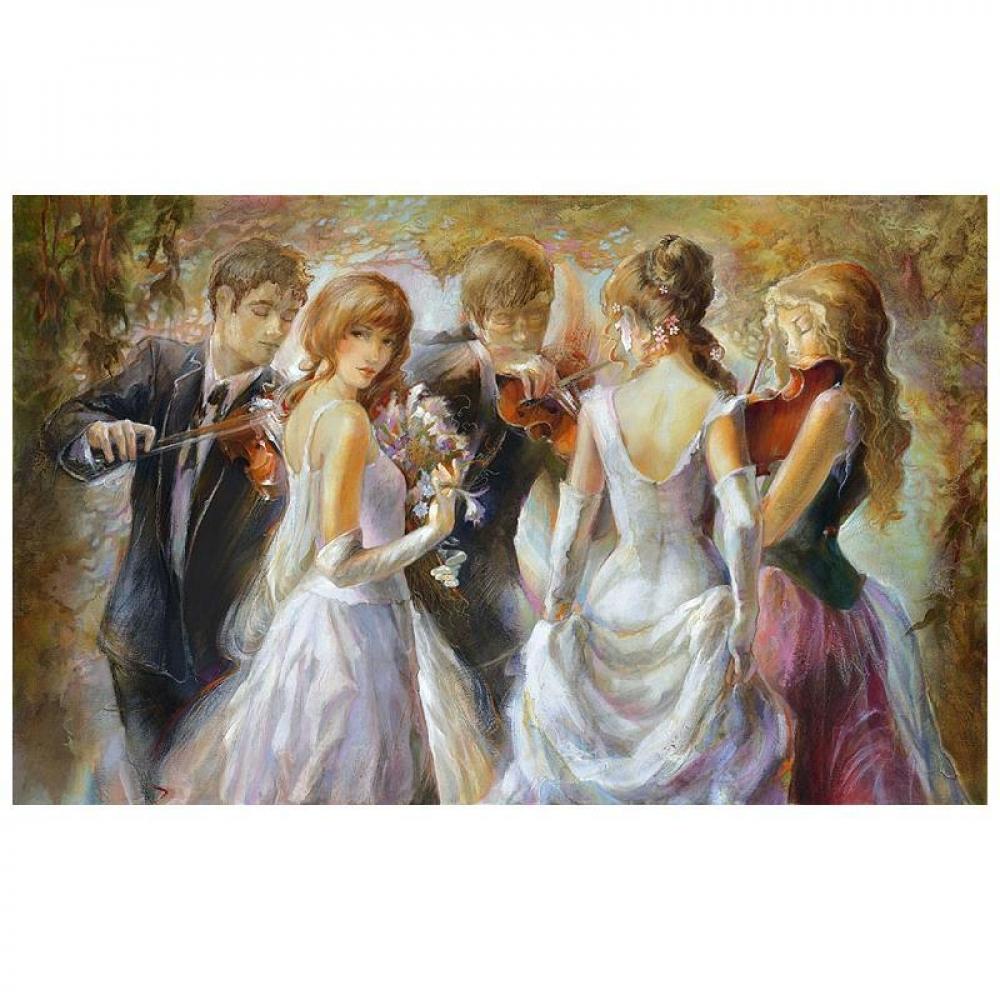 "Lena Sotskova Signed ""Sunrise"" Artist Embellished Limited Edition 25x40 Giclee on Canvas at PristineAuction.com"