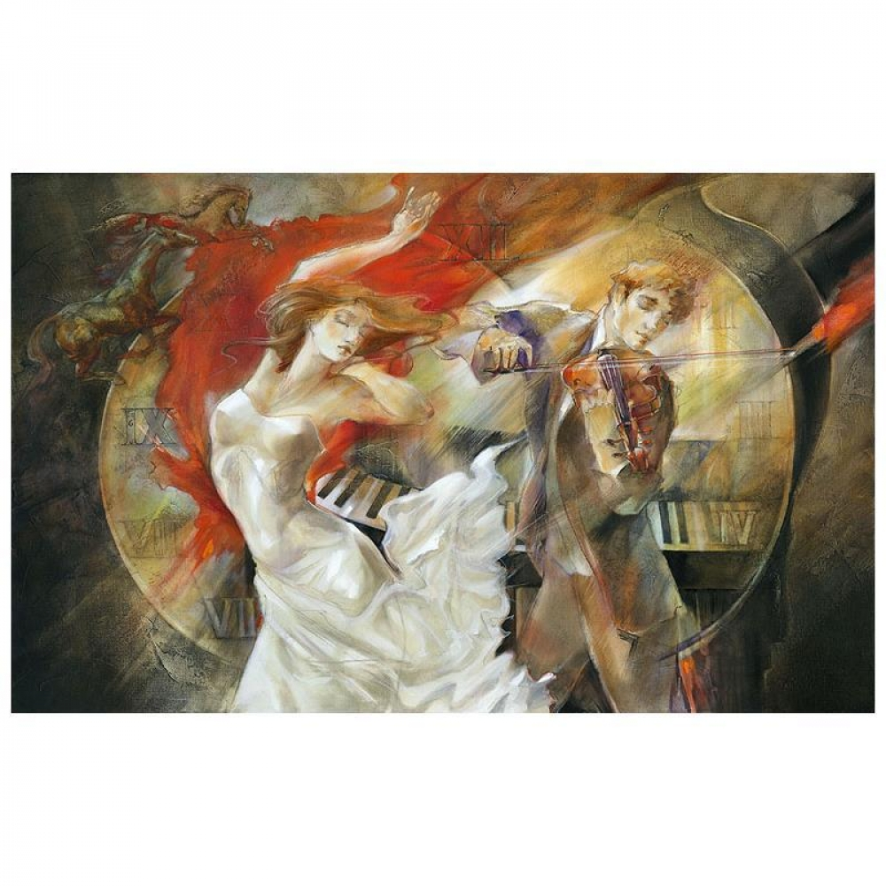"Lena Sotskova Signed ""Timeless"" Artist Embellished Limited Edition 25x40 Giclee on Canvas at PristineAuction.com"