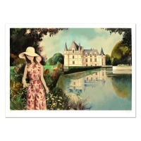 """Robert Vernet Bonfort Signed """"Solitude"""" Limited Edition 21x29 Lithograph at PristineAuction.com"""