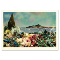 """Robert Vernet Bonfort Signed """"Nice"""" Limited Edition 21x29 Lithograph at PristineAuction.com"""