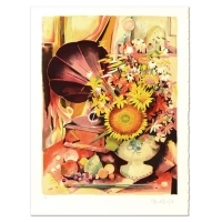 "Robert Vernet Bonfort Signed ""Bouquet"" Limited Edition 21x29 Lithograph at PristineAuction.com"