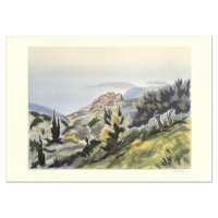 """Victor Zarou Signed """"Montpellier"""" Limited Edition 21x29 Lithograph at PristineAuction.com"""