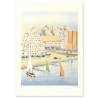 """Victor Zarou Signed """"Grabd Motte"""" Limited Edition 21x29 Lithograph at PristineAuction.com"""