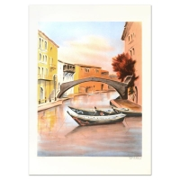 """Victor Zarou Signed """"Camargue"""" Limited Edition 21x29 Lithograph at PristineAuction.com"""