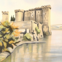 """Victor Zarou Signed """"Nimes"""" Limited Edition 21x29 Lithograph at PristineAuction.com"""
