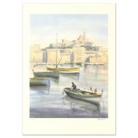 "Victor Zarou Signed ""Livraison Gratuite"" Limited Edition 21x29 Lithograph (PA LOA) at PristineAuction.com"