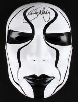 """Steve Borden Signed """"Sting"""" Mask (JSA COA)"""