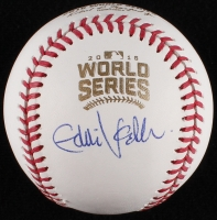 Eddie Vedder Signed Official 2016 World Series Baseball (JSA LOA)
