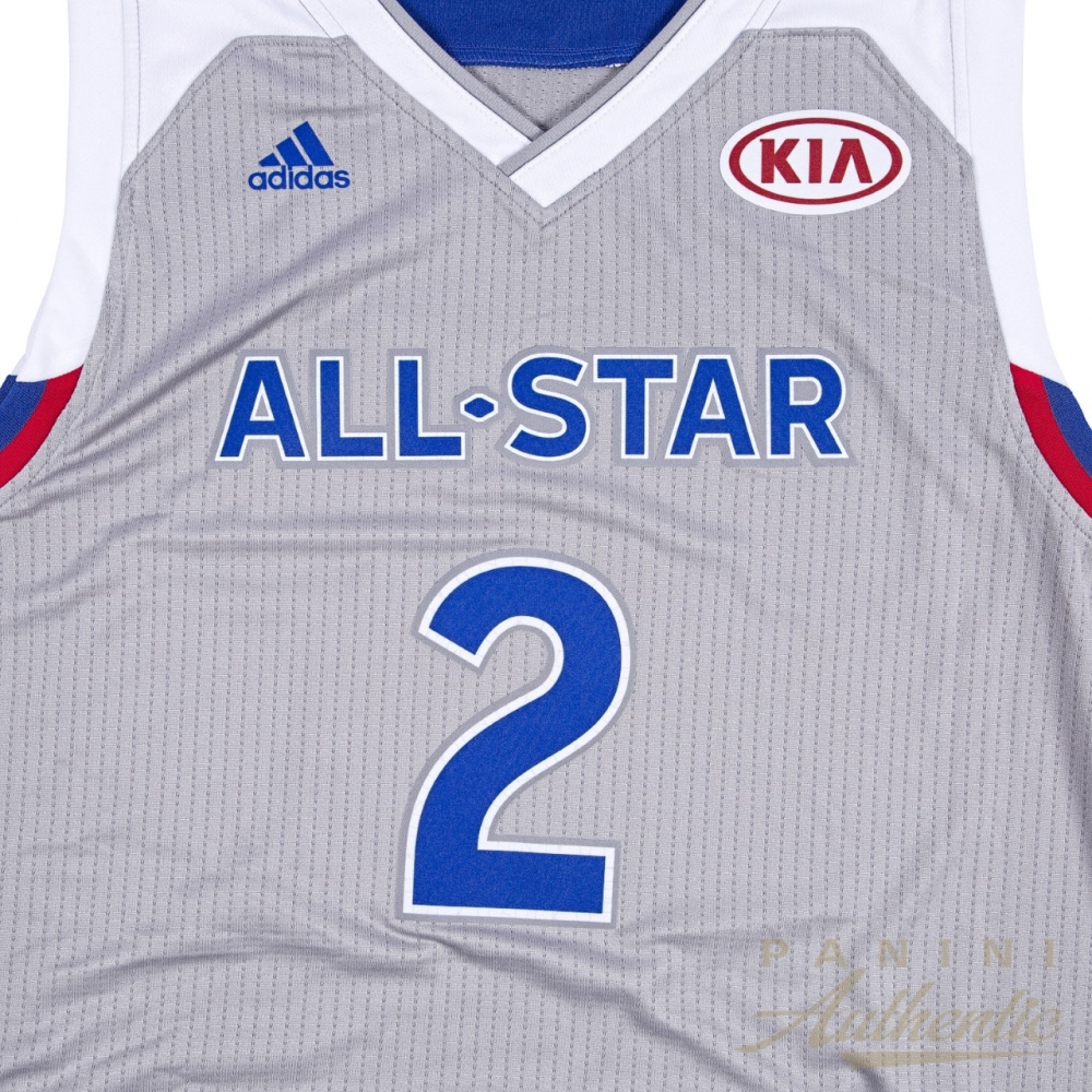 57557011a ... australia kyrie irving signed le 2017 nba all star game adidas swingman  jersey inscribed nola 869b9 ...