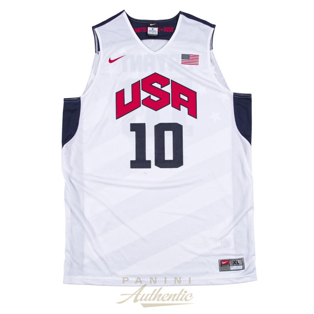 Kobe Bryant Signed Team USA LE Jersey (Panini COA)   Pristine Auction