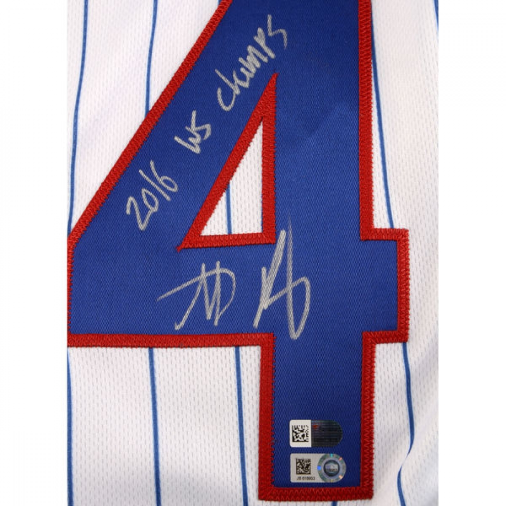 brand new c0250 dca33 anthony rizzo signed jersey