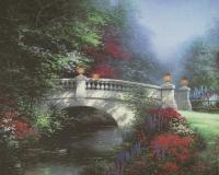 "Thomas Kinkade ""The Broadwater Bridge"" 8"" x 10"" Fine Art Print"