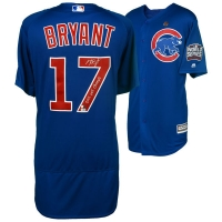 "Kris Bryant Signed Chicago Cubs 2016 World Series Jersey Inscribed ""2016 WS Champs"" (MLB Hologram & Fanatics Hologram) at PristineAuction.com"