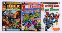 "Lot of (3) 1981 Marvel ""Marvel Team-Up"" Comic Books"
